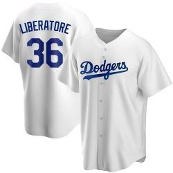 Adam Liberatore Los Angeles Dodgers Men's Replica Home Jersey - White