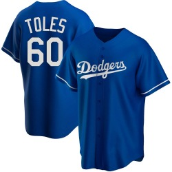 Andrew Toles Los Angeles Dodgers Youth Replica Alternate Jersey - Royal