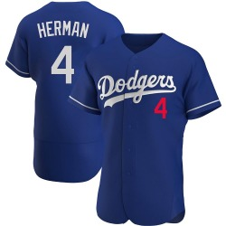 Babe Herman Los Angeles Dodgers Men's Authentic Alternate Jersey - Royal
