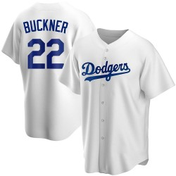 Bill Buckner Los Angeles Dodgers Youth Replica Home Jersey - White