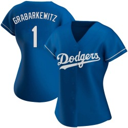 Billy Grabarkewitz Los Angeles Dodgers Women's Authentic Alternate Jersey - Royal