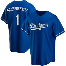 Billy Grabarkewitz Los Angeles Dodgers Youth Replica Alternate Jersey - Royal