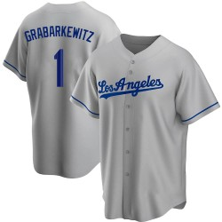 Billy Grabarkewitz Los Angeles Dodgers Youth Replica Road Jersey - Gray