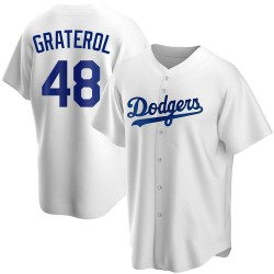 Brusdar Graterol Los Angeles Dodgers Youth Replica Home Jersey - White