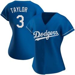 Chris Taylor Los Angeles Dodgers Women's Authentic Alternate Jersey - Royal