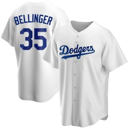 Cody Bellinger Los Angeles Dodgers Youth Replica Home Jersey - White