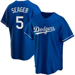 Corey Seager Los Angeles Dodgers Men's Replica Alternate Jersey - Royal