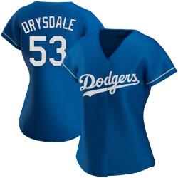 Don Drysdale Los Angeles Dodgers Women's Authentic Alternate Jersey - Royal