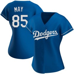 Dustin May Los Angeles Dodgers Women's Replica Alternate Jersey - Royal