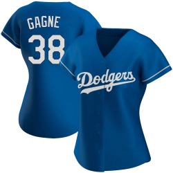 Eric Gagne Los Angeles Dodgers Women's Authentic Alternate Jersey - Royal