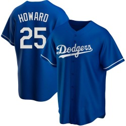 Frank Howard Los Angeles Dodgers Youth Replica Alternate Jersey - Royal