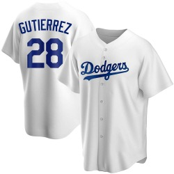 Franklin Gutierrez Los Angeles Dodgers Youth Replica Home Jersey - White