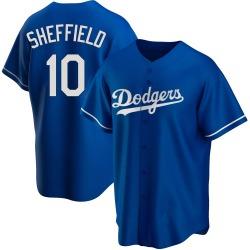 Gary Sheffield Los Angeles Dodgers Men's Replica Alternate Jersey - Royal