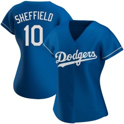 Gary Sheffield Los Angeles Dodgers Women's Authentic Alternate Jersey - Royal