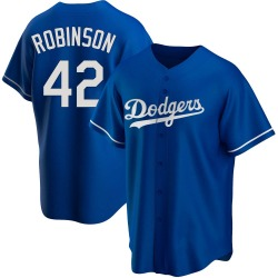 Jackie Robinson Los Angeles Dodgers Youth Replica Alternate Jersey - Royal