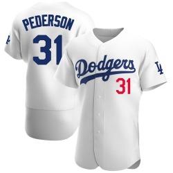 Joc Pederson Los Angeles Dodgers Men's Authentic Home Official Jersey - White