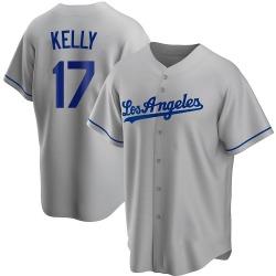 Joe Kelly Los Angeles Dodgers Men's Replica Road Jersey - Gray
