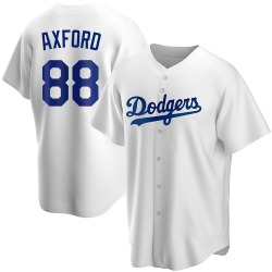 John Axford Los Angeles Dodgers Men's Replica Home Jersey - White
