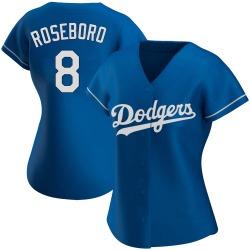 John Roseboro Los Angeles Dodgers Women's Authentic Alternate Jersey - Royal