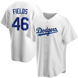 Josh Fields Los Angeles Dodgers Youth Replica Home Jersey - White