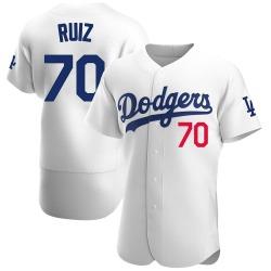 Keibert Ruiz Los Angeles Dodgers Men's Authentic Home Official Jersey - White