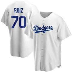 Keibert Ruiz Los Angeles Dodgers Men's Replica Home Jersey - White