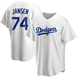 Kenley Jansen Los Angeles Dodgers Youth Replica Home Jersey - White