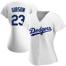 Kirk Gibson Los Angeles Dodgers Women's Replica Home Jersey - White