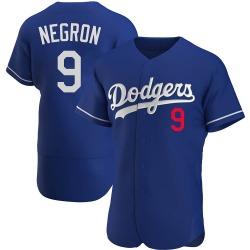 Kristopher Negron Los Angeles Dodgers Men's Authentic Alternate Jersey - Royal