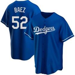 Pedro Baez Los Angeles Dodgers Men's Replica Alternate Jersey - Royal