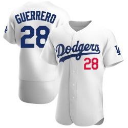 Pedro Guerrero Los Angeles Dodgers Men's Authentic Home Official Jersey - White