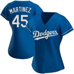 Pedro Martinez Los Angeles Dodgers Women's Authentic Alternate Jersey - Royal