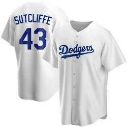 Rick Sutcliffe Los Angeles Dodgers Youth Replica Home Jersey - White