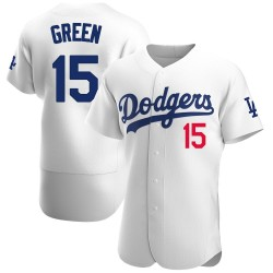 Shawn Green Los Angeles Dodgers Men's Authentic Home Official Jersey - White