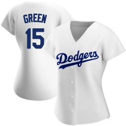 Shawn Green Los Angeles Dodgers Women's Authentic Home Jersey - White