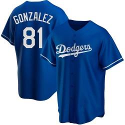 Victor Gonzalez Los Angeles Dodgers Men's Replica Alternate Jersey - Royal