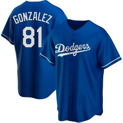 Victor Gonzalez Los Angeles Dodgers Youth Replica Alternate Jersey - Royal