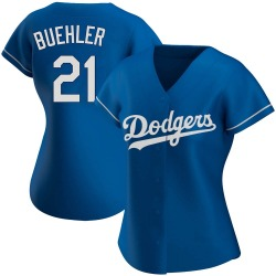 Walker Buehler Los Angeles Dodgers Women's Authentic Alternate Jersey - Royal